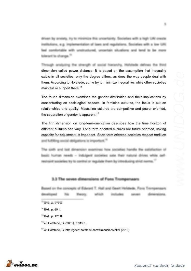 hall trompenaars Dayann obeng- darko cross cultural business communication: cross cultural business communication: a case of lower silesia chamber fons trompenaars culture.