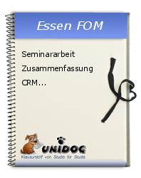 Seminararbeit Zusammenfassung Crm