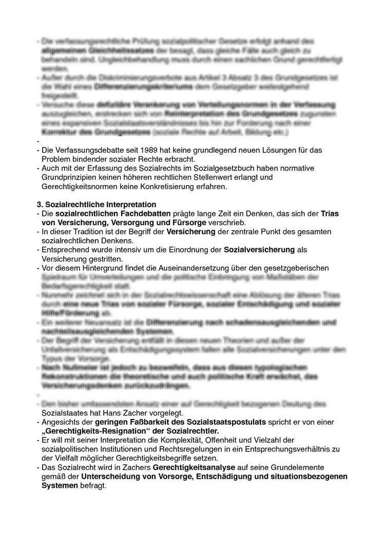 Textzusammenfassung Frank Nullmeier Gerechtigkeitsziele Des
