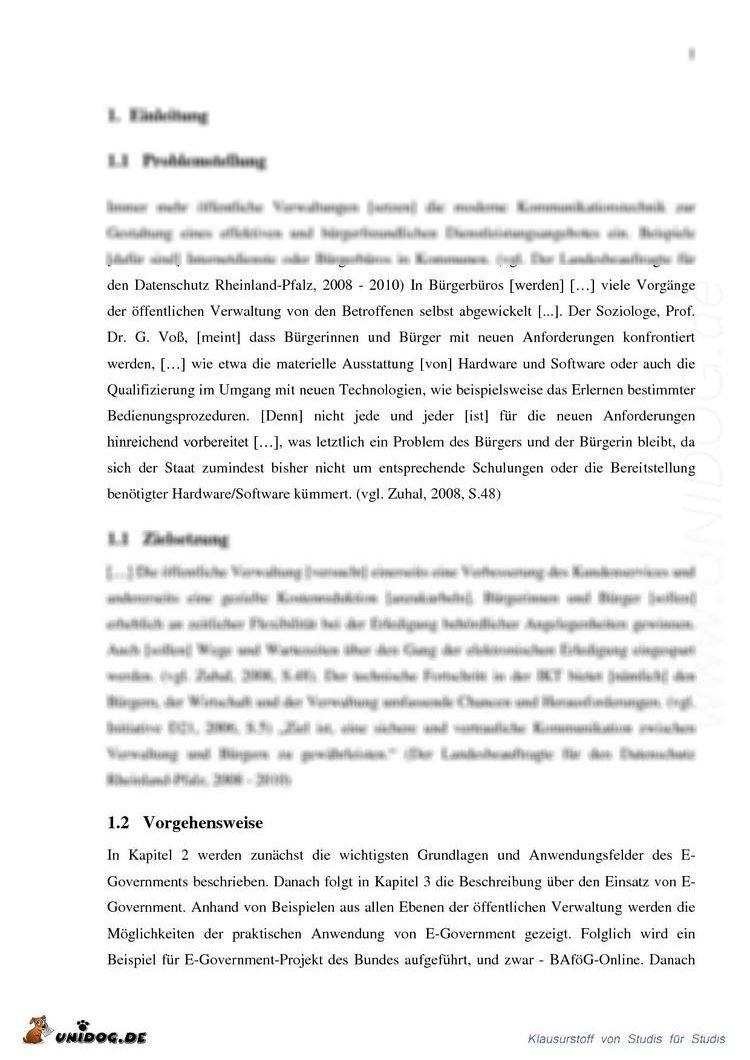 vorschaubild 1 vorschaubild 2 - Muster Hausarbeit