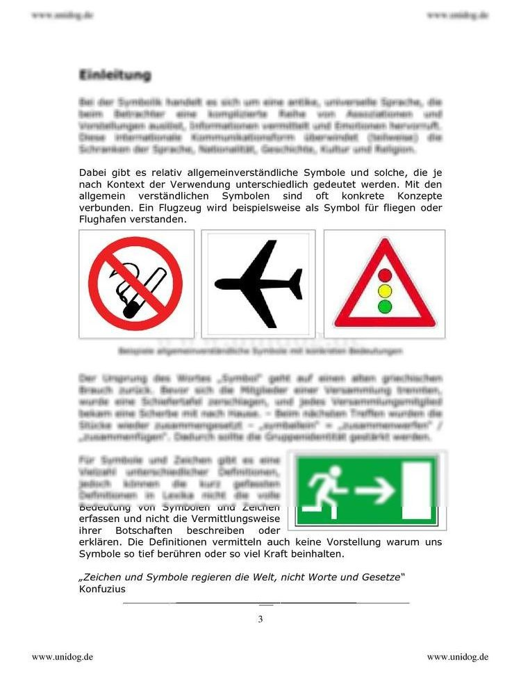 Symbole und ihre Bedeutung