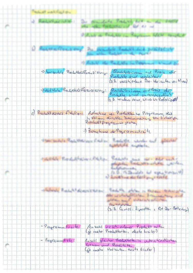 UNIDOG - Zusammenfassung klausurrelevanter Dinge - handschriftlich