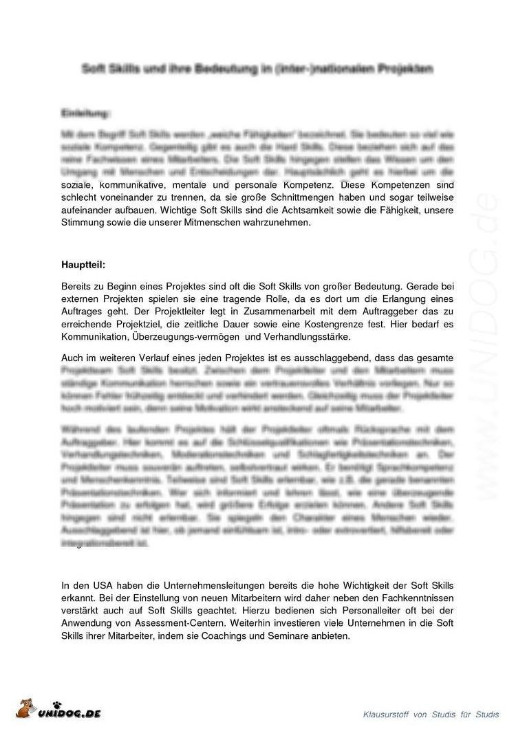 abstract on soft skills Abstract employers actively look for talents having not only specific hard skills but also various soft skills to analyze the soft skill demands on the job market, it is important to be able to detect soft skill phrases from job advertisements automatically.