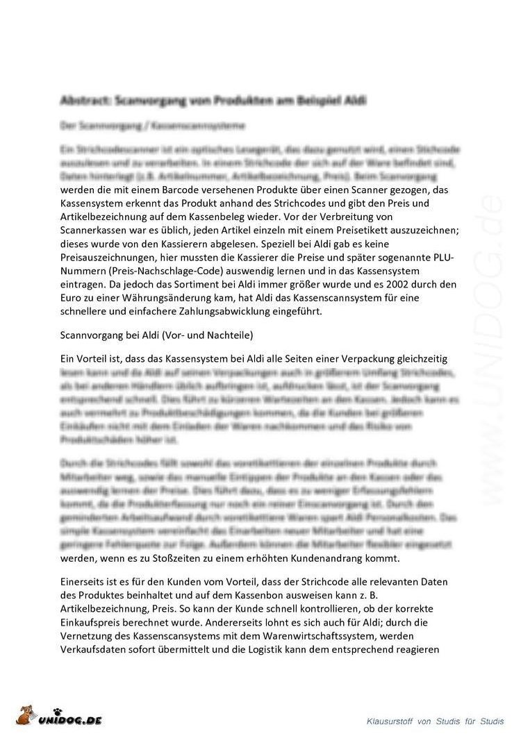 Scientific Abstract - Der Scanvorgang von Produkten am ...