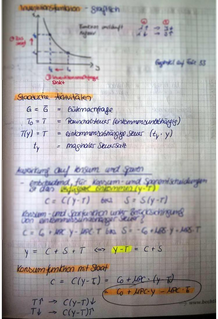 UNIDOG - Klausurvorbereitung Modul Makroökonomik - Norbert Lamar