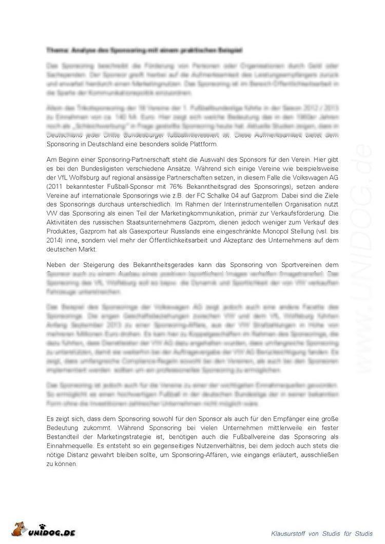 Gemütlich Sponsoring Vereinbarung Vorlage Ideen - Entry Level Resume ...